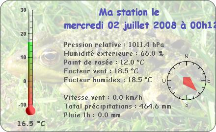 Observations du Mercredi 2 Juillet 2008 Repor132