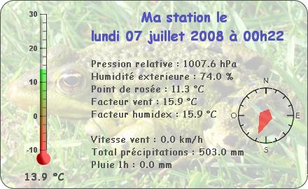 Observations du Lundi 7 Juillet 2008 Repor139