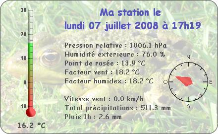 Observations du Lundi 7 Juillet 2008 Repor140