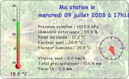 Observations du Mercredi 9 Juillet 2008 Repor144