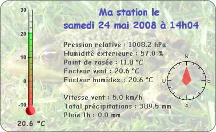 Observations du Samedi 24 Mai 2008 Report88