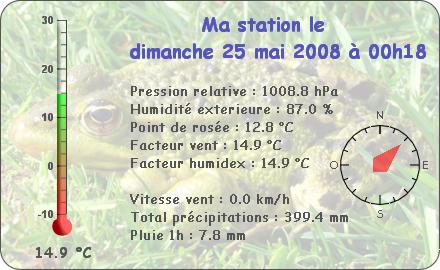 Observations du Dimanche 25 Mai 2008 Report89