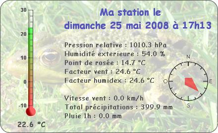 Observations du Dimanche 25 Mai 2008 Report90