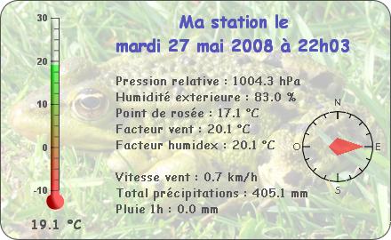 Observations du Mardi 27 Mai 2008 Report92