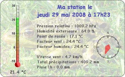 Observations du Jeudi 29 Mai 2008 Report93
