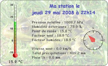 Observations du Jeudi 29 Mai 2008 Report94