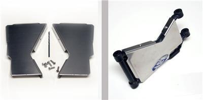 protection en alu pour bras de suspension arrière LUNATIK 12992510