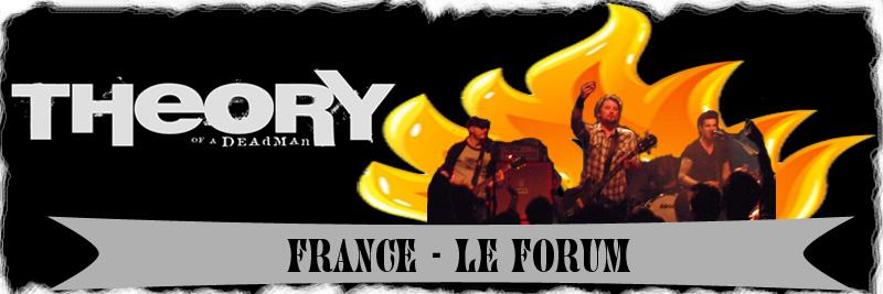 Theory Of A Deadman France