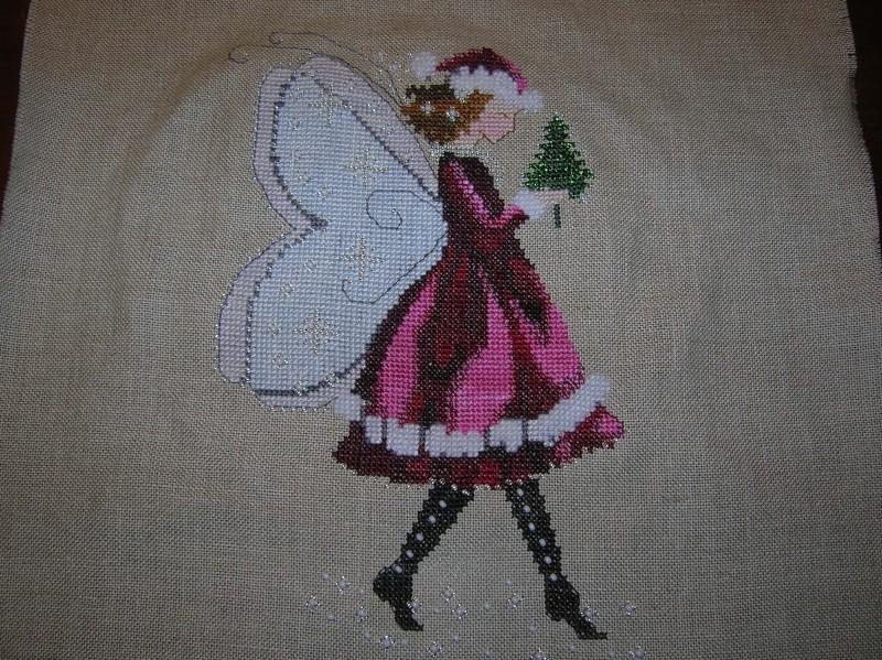 Mirabilia THE CHRISTMAS ELF FAIRY finie Dscn1216