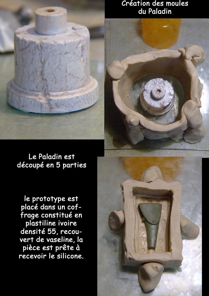 l'atelier de bruno : Le Paladin Moule_10