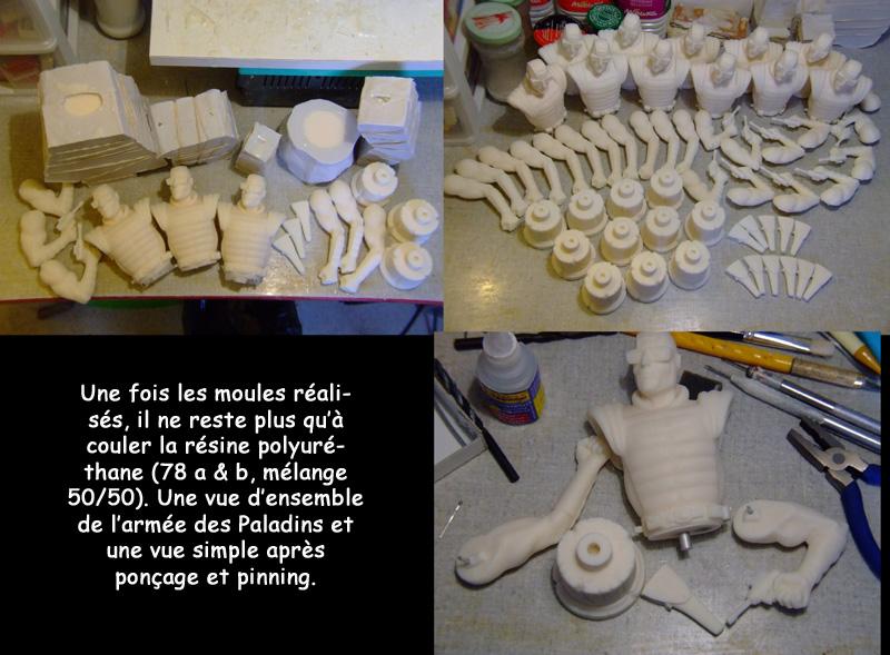 l'atelier de bruno : Le Paladin Resine10