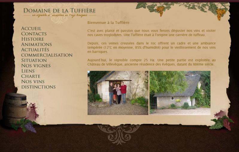 Domaine de la Tuffière à LUE EN BAUGEOIS Tuf10