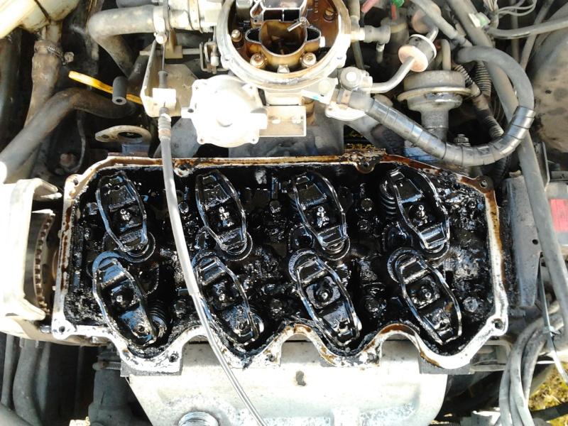 [ Ford Fiesta 1.4l clx an 1992 ] circuit huile / bruit culbuteurs Photo011