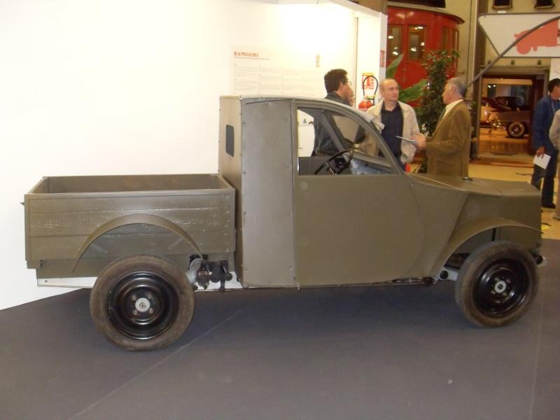 Exposition au musée H.Malartre (69) pour les 60ans de la 2cv Sdc11420