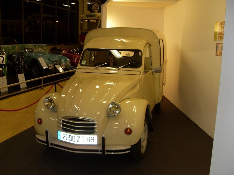 Exposition au musée H.Malartre (69) pour les 60ans de la 2cv Sdc11423
