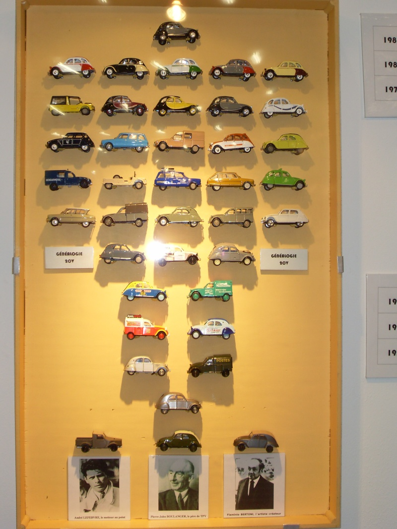 Exposition au musée H.Malartre (69) pour les 60ans de la 2cv Sdc11429