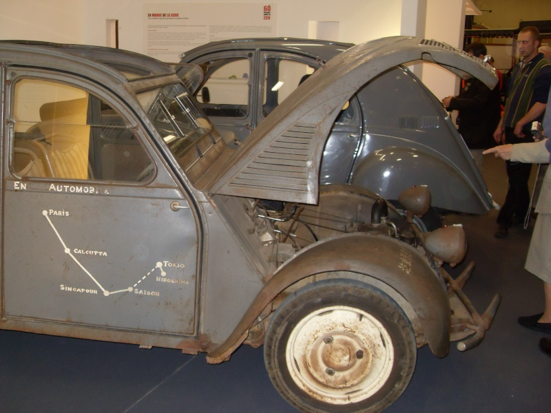 Exposition au musée H.Malartre (69) pour les 60ans de la 2cv Sdc11431