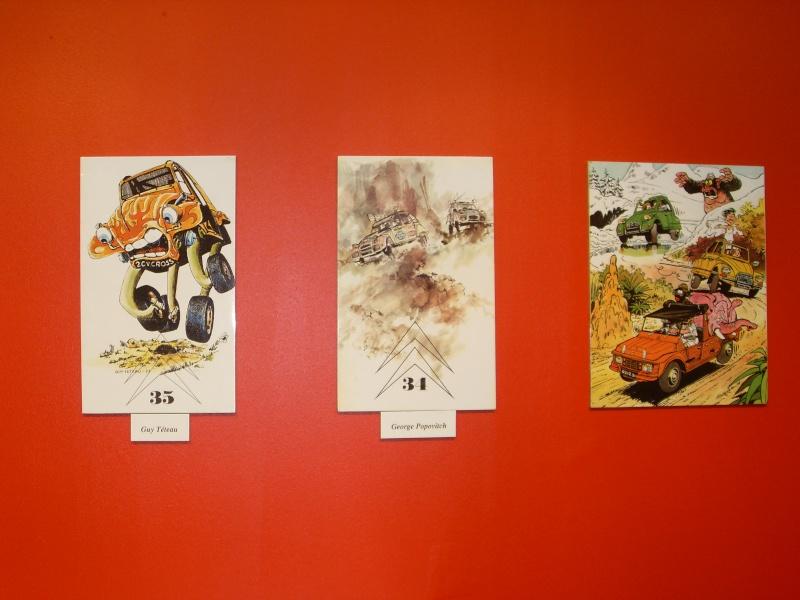 Exposition au musée H.Malartre (69) pour les 60ans de la 2cv Sdc11441