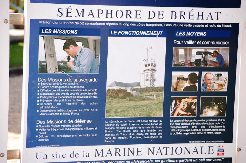 Phare du Rosédo + sémaphore de Bréhat Br12310