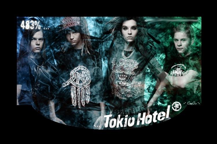 483 % de Tokio Hotel