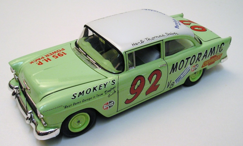 "Chevrolet Bel Air 55 Nascar "" Herb Thomas "" Chevro10"