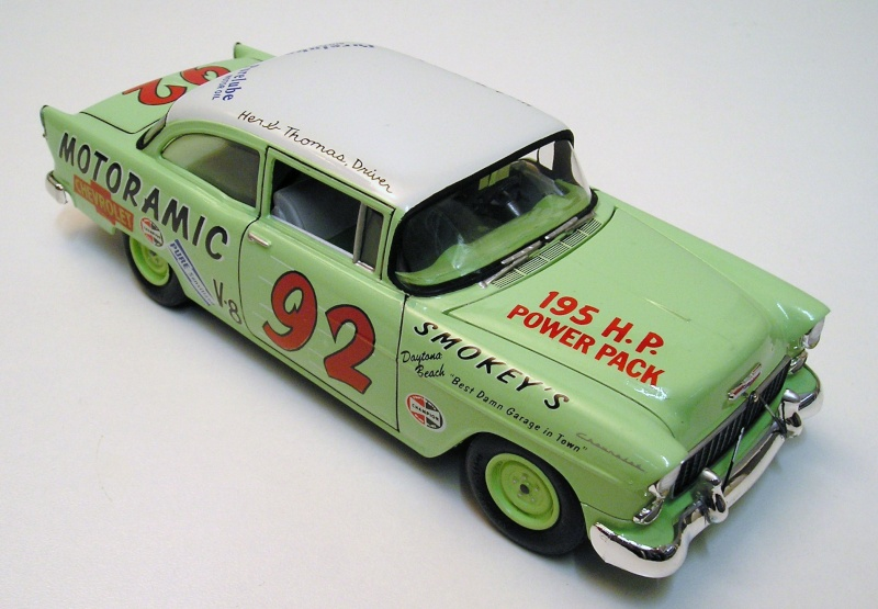 "Chevrolet Bel Air 55 Nascar "" Herb Thomas "" Chevro11"