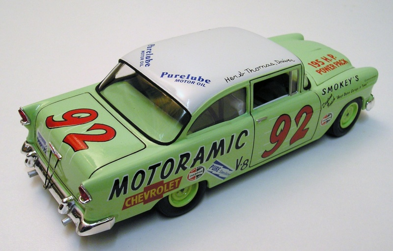 "Chevrolet Bel Air 55 Nascar "" Herb Thomas "" Chevro12"