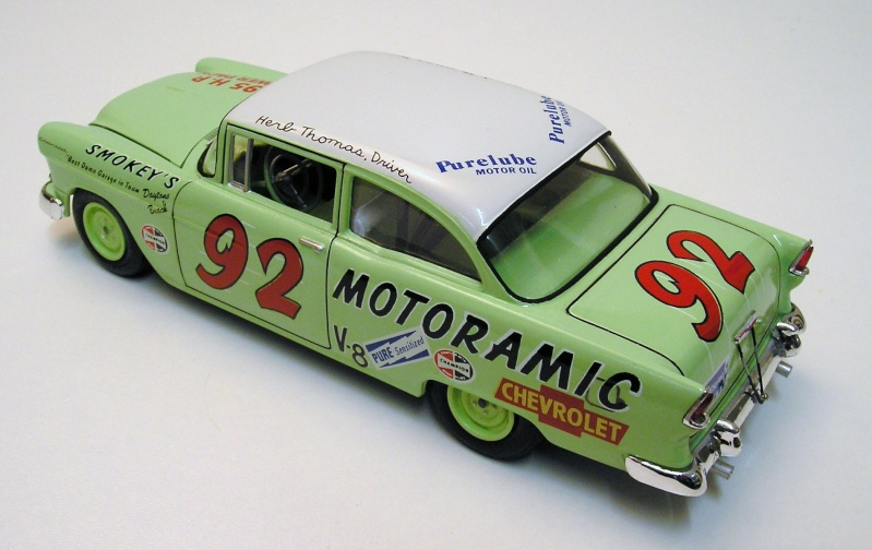 "Chevrolet Bel Air 55 Nascar "" Herb Thomas "" Chevro13"