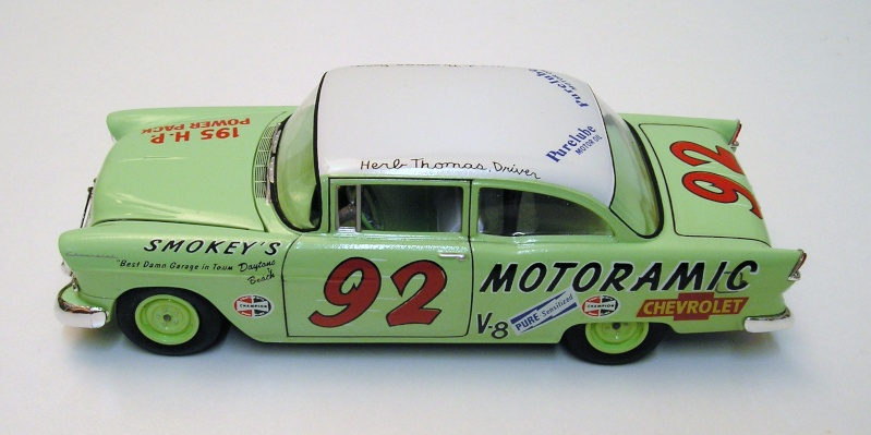 "Chevrolet Bel Air 55 Nascar "" Herb Thomas "" Chevro14"