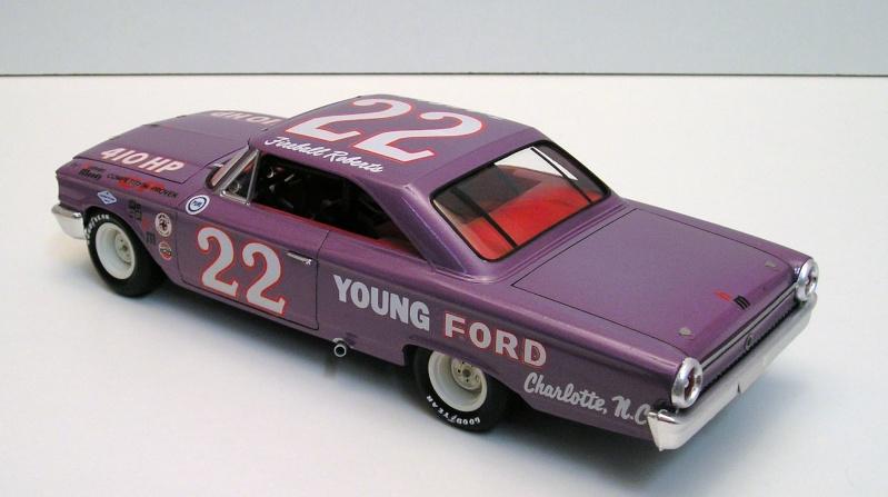 Ford Galaxie Nascar Fireball Roberts Ford_g11