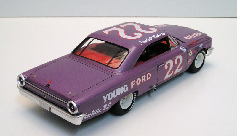 Ford Galaxie Nascar Fireball Roberts Ford_g12