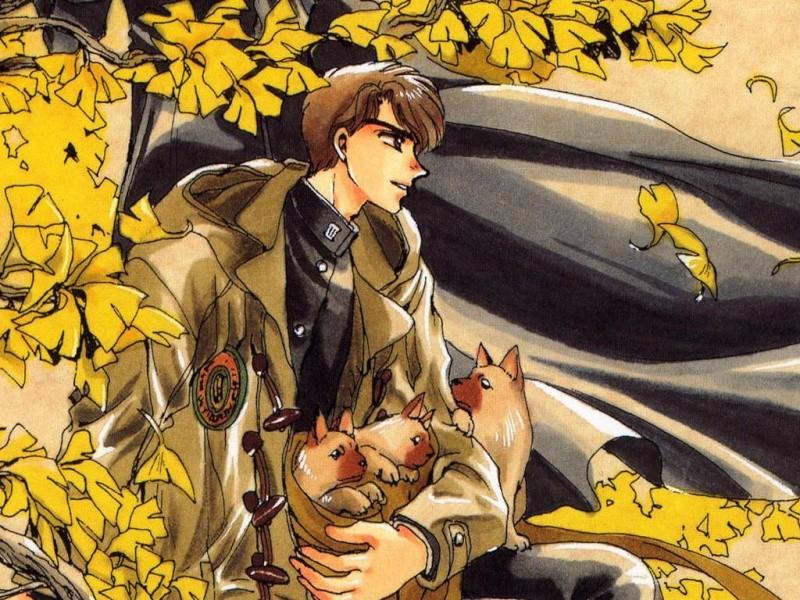 Les tranches du manga : le mystérieux perso du tome 19 !! D10