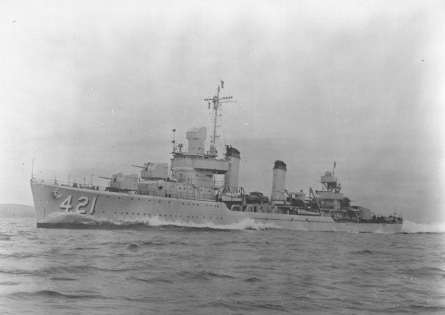 USS BENSON DD-421 1/350 DRAGON Dd-42112