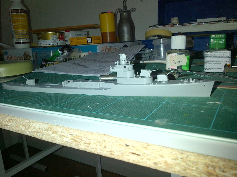 USS BENSON DD-421 1/350 DRAGON Loches10