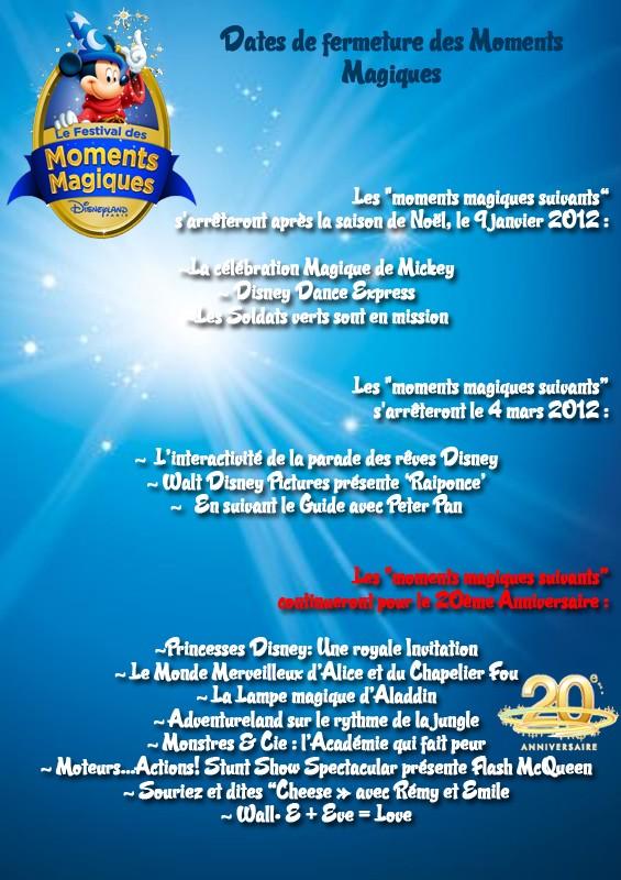 Disney's Magical Moments Festival (À partir du 2 avril 2011) - Page 15 Date11