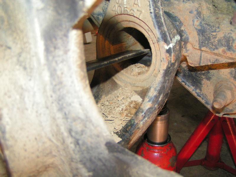 Croisillon de roue sur XJ Pict0031