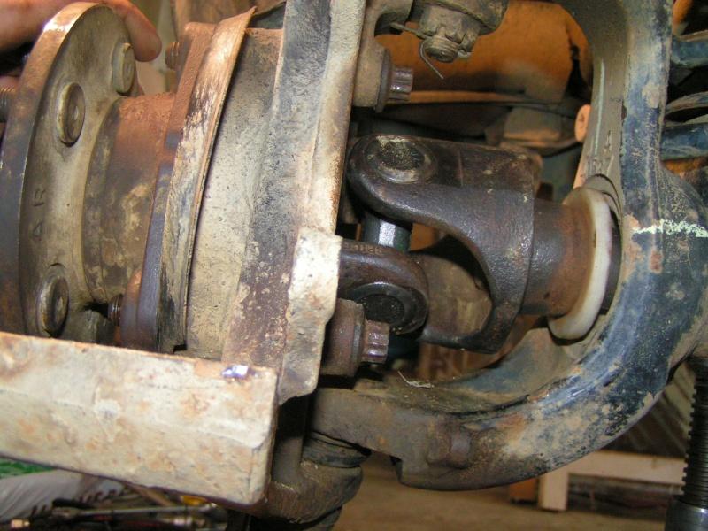 Croisillon de roue sur XJ Pict0034