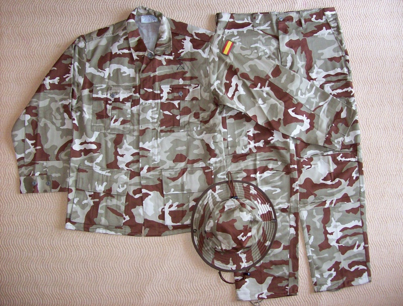 Spanish Marines desert camouflage uniform 100_5017