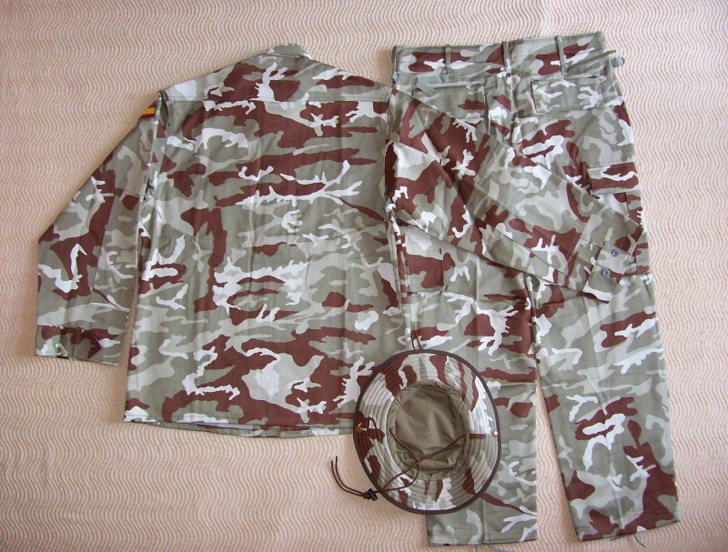 Spanish Marines desert camouflage uniform 100_5018