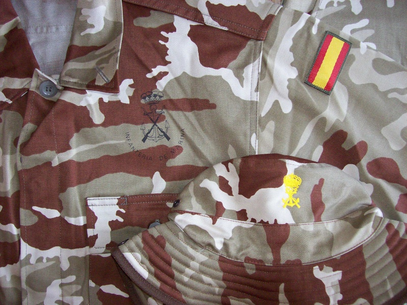 Spanish Marines desert camouflage uniform 100_5019