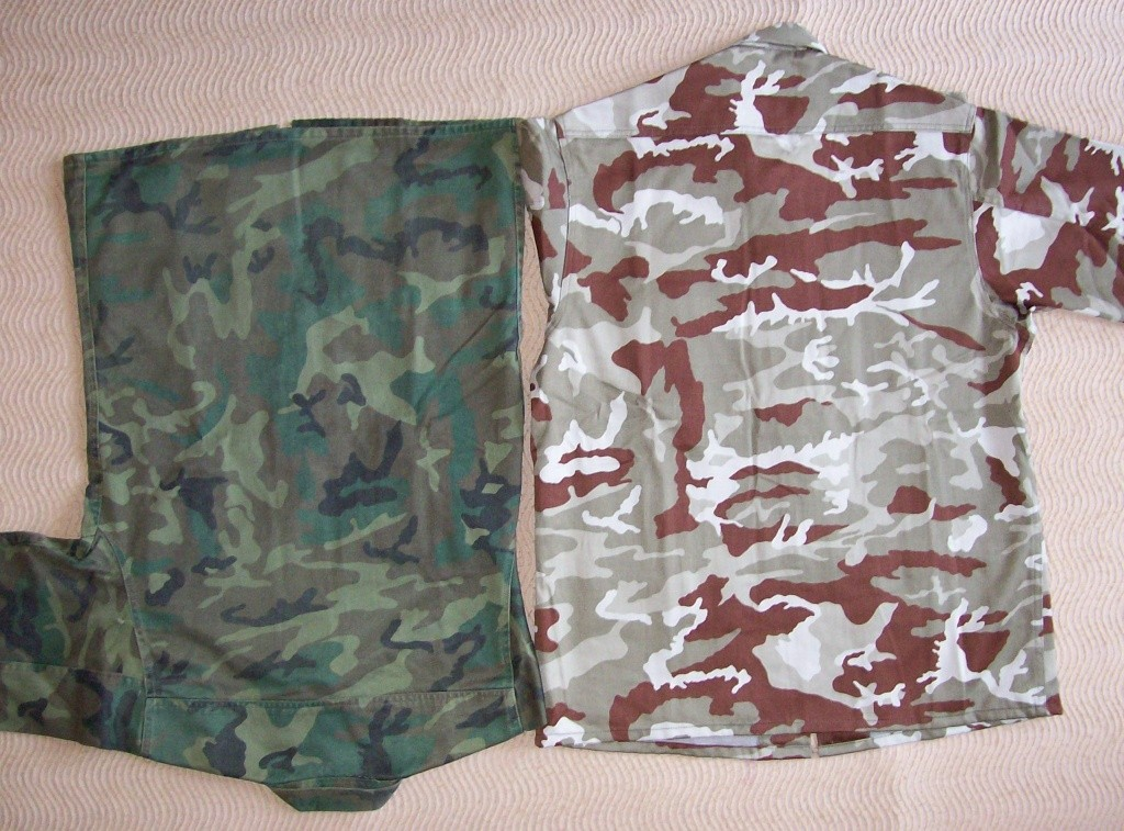Spanish Marines desert camouflage uniform 100_5022