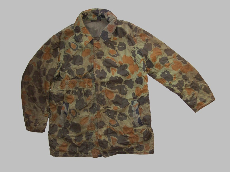 paratrooper garment camouflage build in parachute material 100_7327