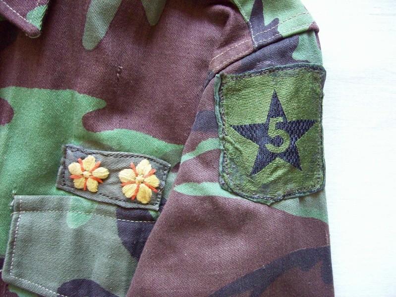 South Vietnam camouflage- North Vietnam/ Vietnam cut garment 100_8027