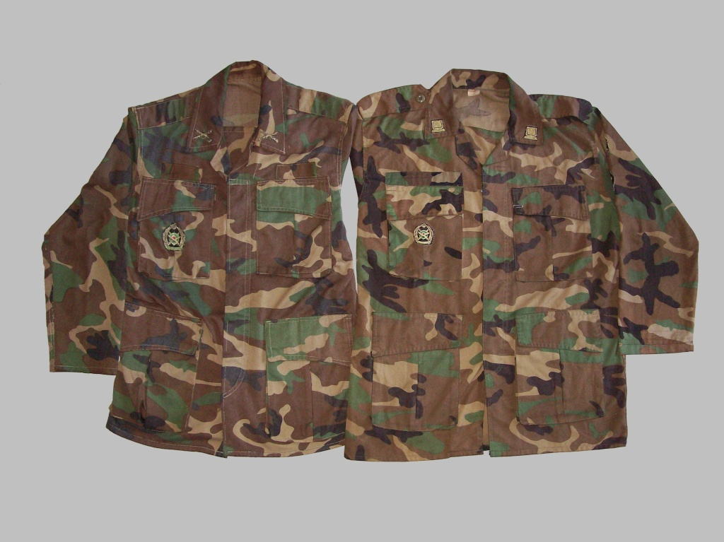 WOODLAND CAMOUFLAGE uniform 100_8518
