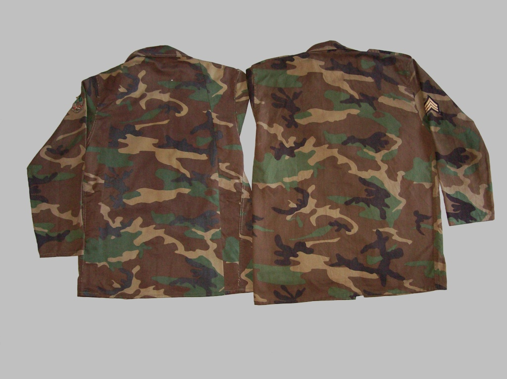 WOODLAND CAMOUFLAGE uniform 100_8519