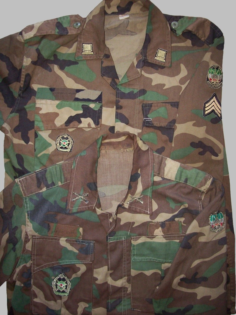 WOODLAND CAMOUFLAGE uniform 100_8520