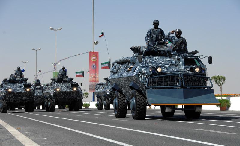 Kuwaiti Police Blue DPM camo Koweit15