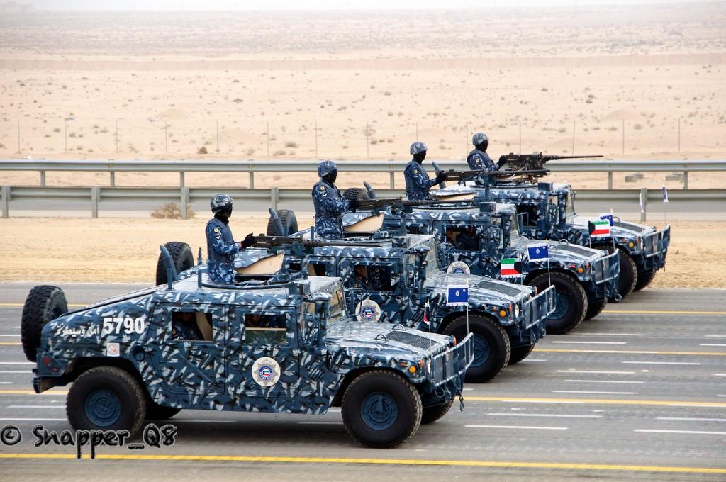 Kuwaiti Police Blue DPM camo Koweit16