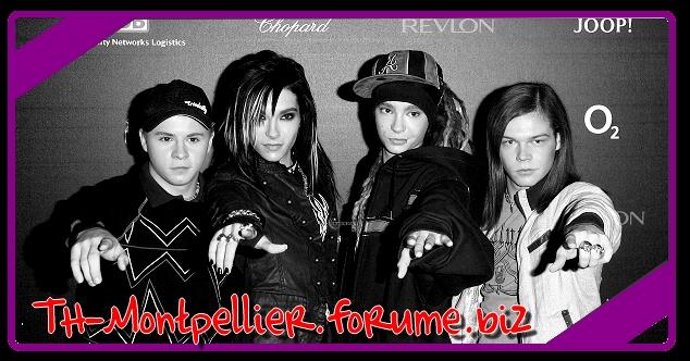 Languedoc Rousillon fan de Tokio Hotel.
