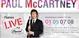 Paul McCartney Live su iTunes Paul10